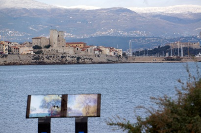 Antibes from Cap 3