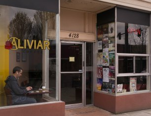Aliviar Coffee on NE Sandy in Portland, Oregon