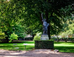 La Liberté Éclairant Le Monde par August Bartholdi (1834-1904)