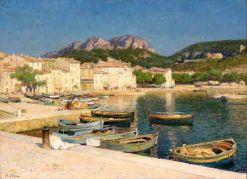 Le Port de Cassis, Jean-Baptiste Olive
