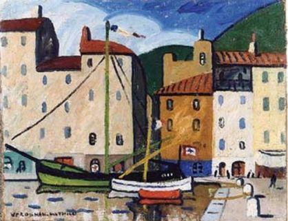 Le Port de Cassis, Louis Mathieu Verdilhan