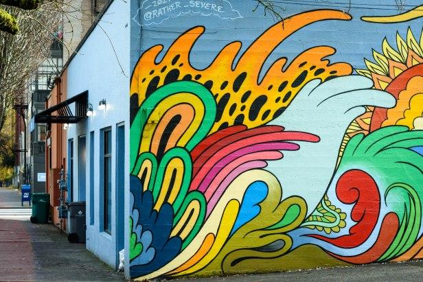 Street art in NW Portland.