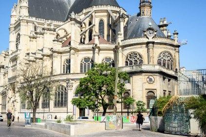 L'église Saint-Eustache