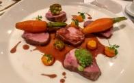 """Punta de Lomo, cochon """"Duroc"""", mousseline de carotte à l'orange"""