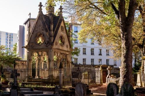 Tomb of Héloïse et Abélard, Cimetière du Père-Lachaise, Paris