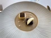 sorbet et mousse au chocolat