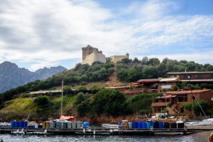 Tour Génoise de Girolata à Osani Fort De Girolata